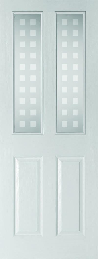 Bostonian geometric glazed door