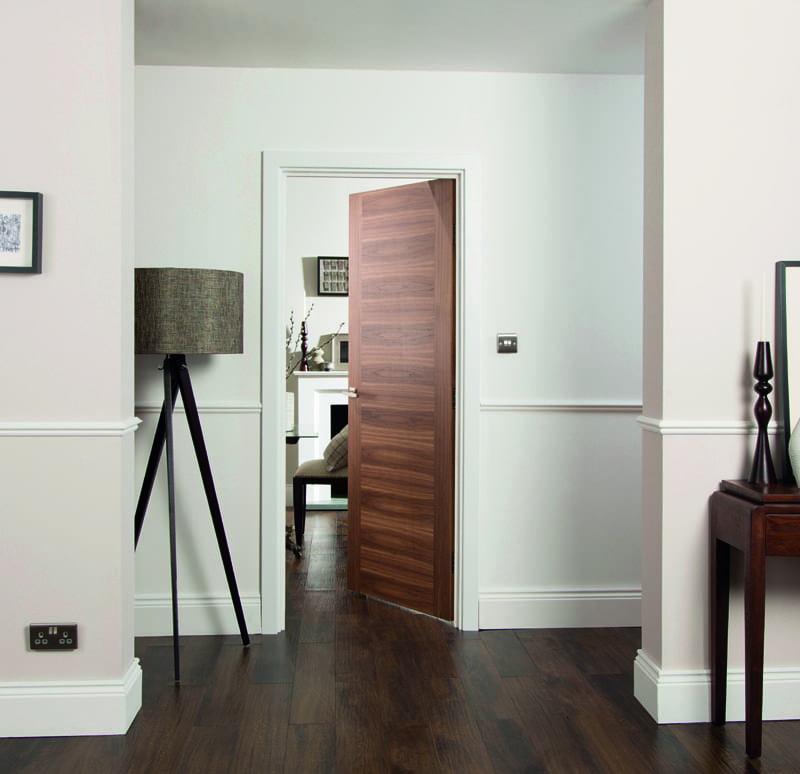 Jeldwen promotional walnut fusion doors