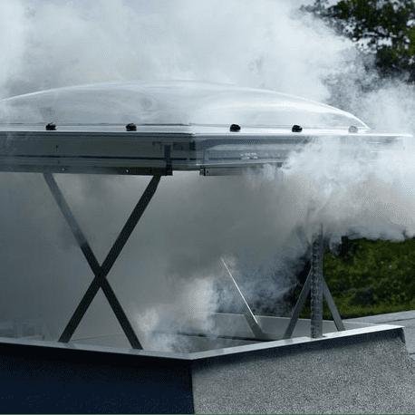 Velux Flat roof smoke ventilation system