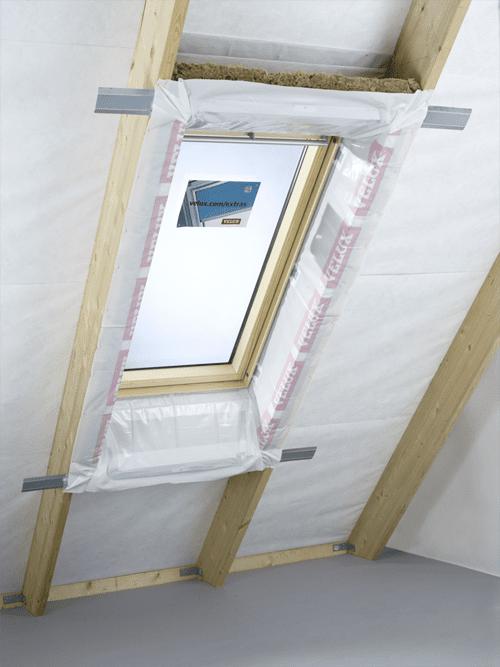 Velux Lining Kit LSG 1000 installation