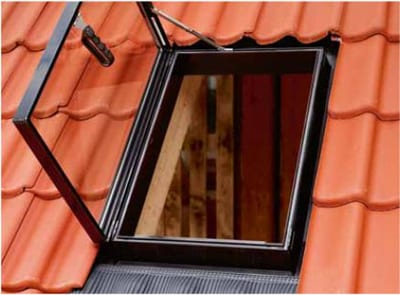 Velux rooflights side hung