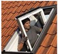 Velux single roof window flashings