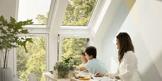 Velux sloping and vertical windows 3