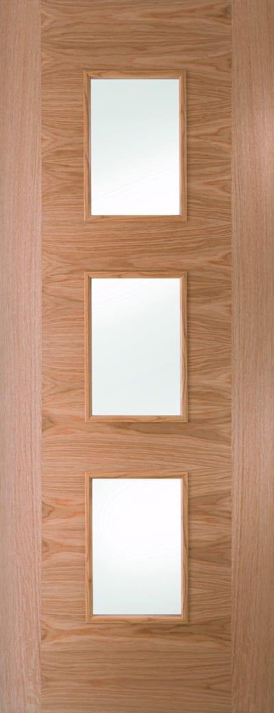 White oak fusion glazed door 3