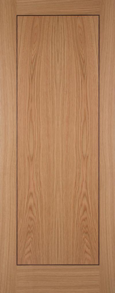 White oak inlay promo door