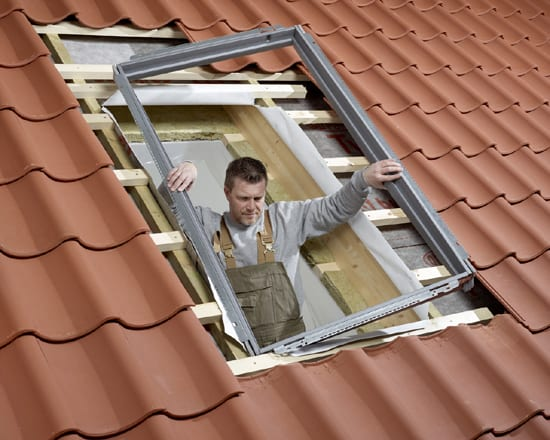 installing a velux flashing