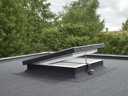velux flat roof window integra electric