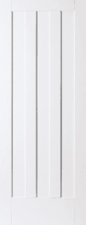 Aston 3 panel primed door