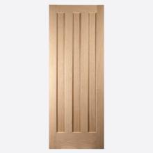 Aston Panel White Oak Doors