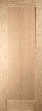 Oak Shaker 1 panel doors