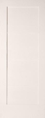 Shaker 1 panel primed door