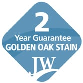 2 year guarantee golden oak stain