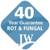 40 year guarantee Rot & Fungal