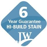 6 year guarantee hi-build stain