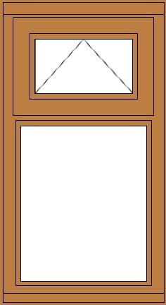 Casement with Vent window
