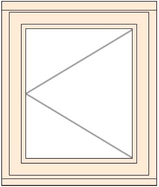 Jeldwen LEW107C-A side hung casement window