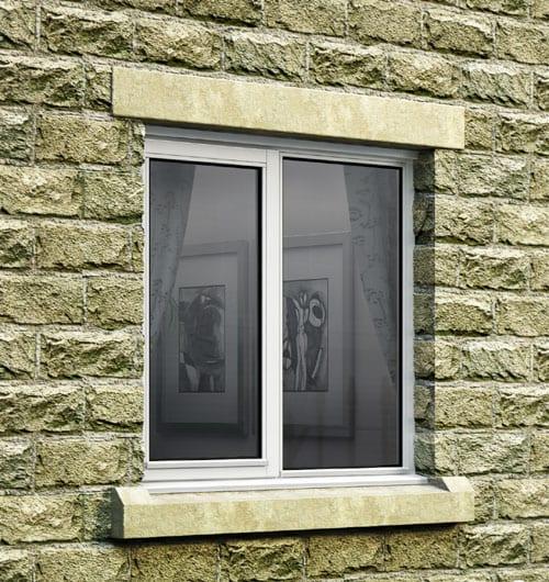 Standard Width Timber Casement Window 1195mm Wide Open