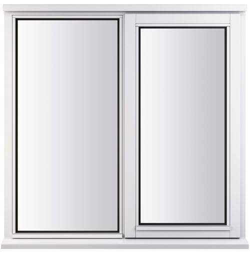 LEW210C-O Jeldwen side hung casement window fixed-open