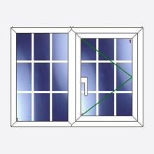 Sunvu Georgian Bar Casement Window Fixed/Open