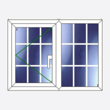 Sunvu Georgian Bar Casement Window Open/Fixed
