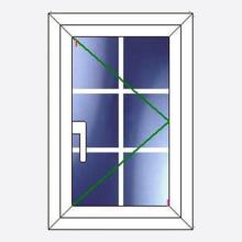 Sunvu Georgian Bar Casement Window Single Sash
