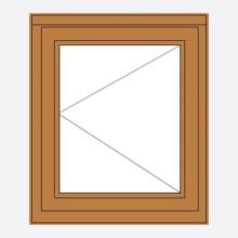 Sunvu Hardwood Casement Window Single Sash