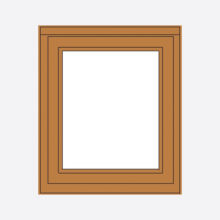 Sunvu Oak Casement Window Fixed Sash