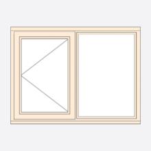Sunvu Stormproof Casement Window Open Fixed