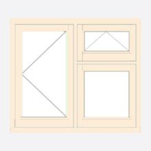 Sunvu Stormproof Casement Window Open/Vent over fixed