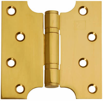 Button Tipped Parliament Hinge 4 Quot X 4 Quot X 2 Quot Brass Doors