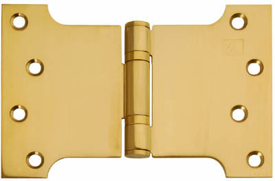 Button Tipped Parliament Hinge 4 Quot X 6 Quot X 4 Quot Brass Doors
