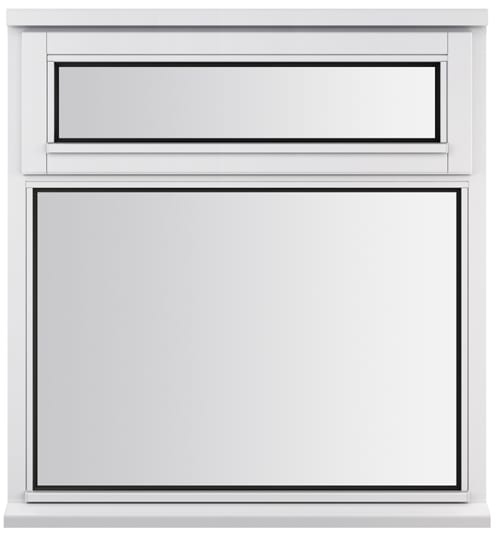 LEW2N10W Jeldwen casement with vent windows