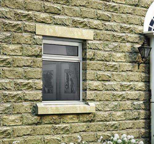 LEW2N10W Setshot Jeldwen casement window with vent