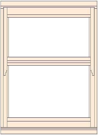 Standard Width Regency Casement Window 483mm W Doors