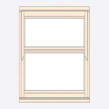 Standard Width Regency Casement Window 483mm(w)