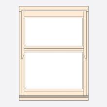Standard Width Regency Casement Window 625mm(w)
