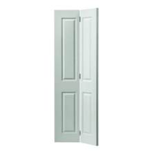 White Moulded Canterbury Bifold Door