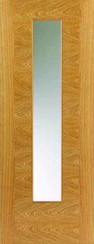 JBK Brisa Ostria Glazed oak doors