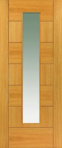 JBK Brisa Sirocco Glazed oak door