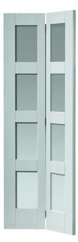 JBK Calypso Cayman glazed bi-fold door