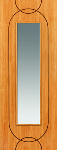 JBK Elements Agua Glazed oak doors