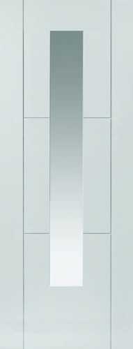 JBK Limelight Mistral White Glazed door