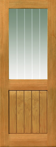 JBK River Oak Cottage Thames II half light oak doors