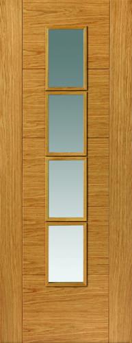 JBK River Oak Modern Bela oak doors