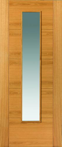 JBK River Oak Modern Emral oak doors