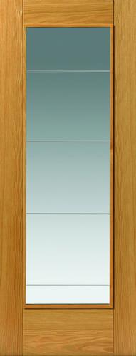 JBK River Oak Modern Medina oak doors