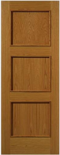 JBK Royale modern R03 oak doors