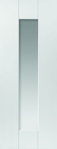 JBK Symmetry Axis White Glazed doors