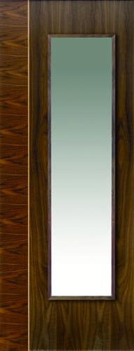 JBK Walnut Flush Edras doors