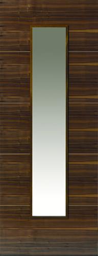 JBK Walnut Flush Parisienne doors